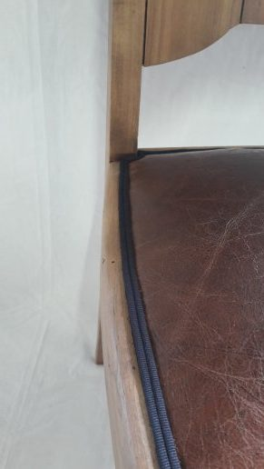 finition galon double cordes chaise art deco villefranche