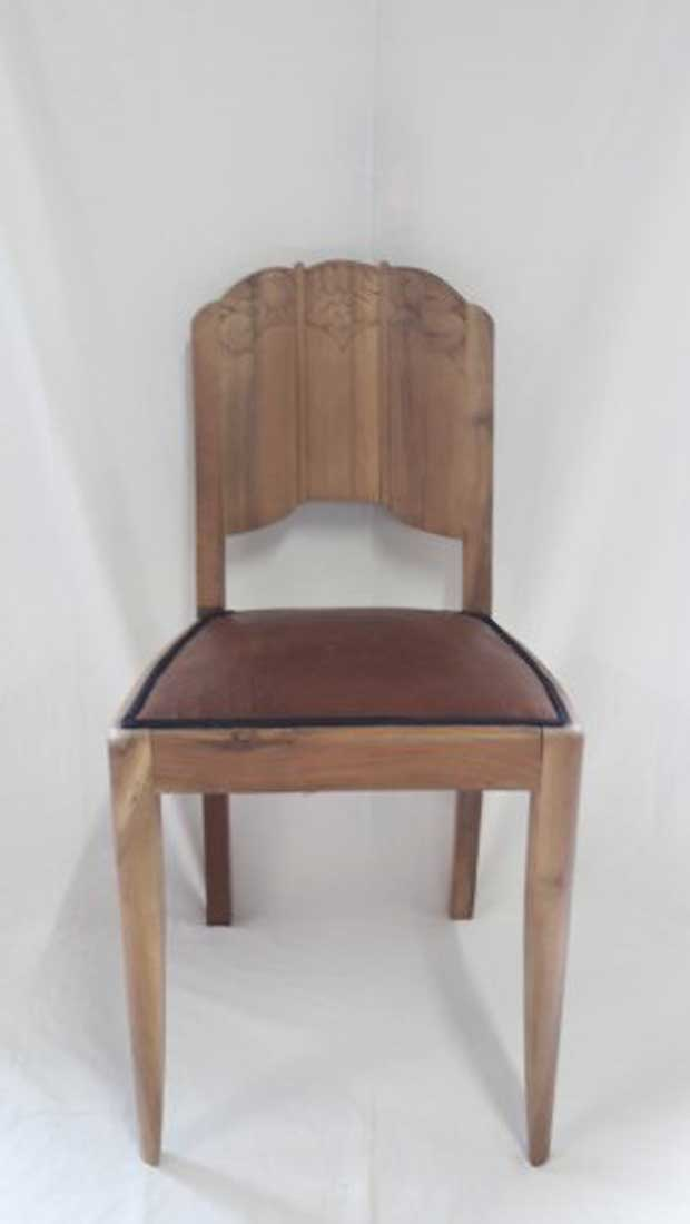 relooking chaise art deco lissieu