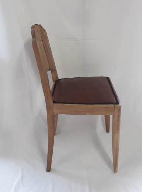 aerogommage changment tissu chaise art deco lissieu