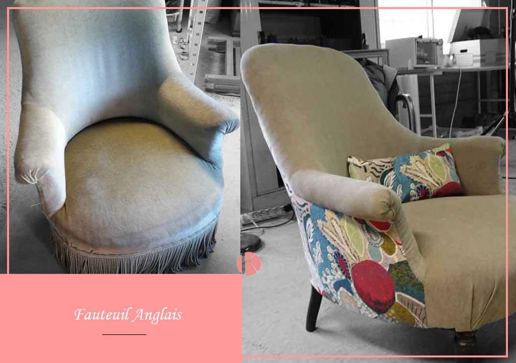 tapissier décorateur changement de tissu fauteuil lyon