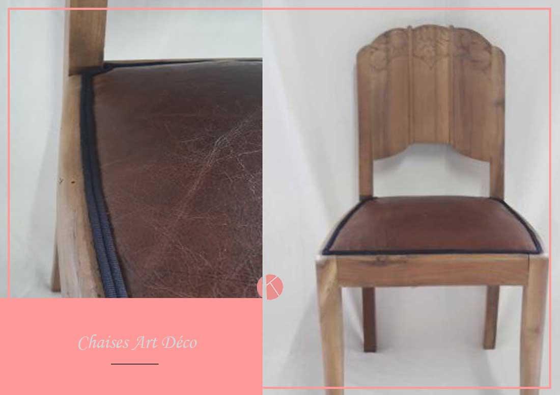 restauration chaises art deco villefranche