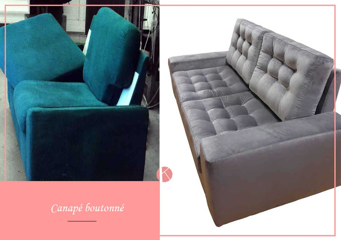 modernisation canapé tapissier décorateur lyon