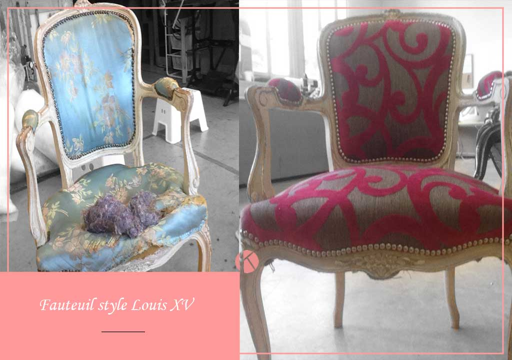 restauration fauteuil louis xv